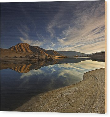 Wood Print featuring the photograph Lake Isabella  Mg_8082 by David Orias