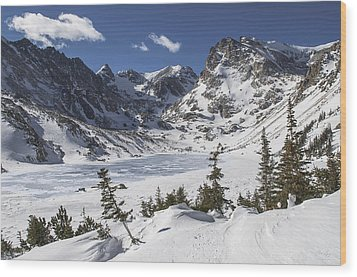 Lake Isabelle Wood Print by Aaron Spong