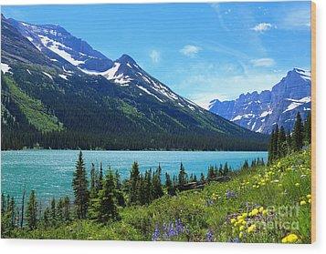 Lake Josephine Wood Print by Marty Fancy