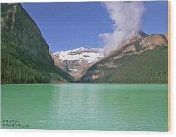 Lake Louise -1 Wood Print