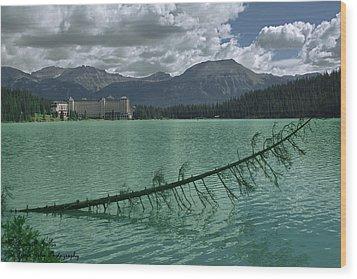 Lake Louise - 2 Wood Print