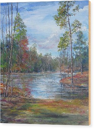 Lake Murray  Wood Print
