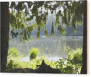 Lake Of Dreams Wood Print