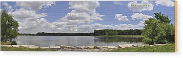 Wood Print featuring the photograph Lake Of Dreams by Verana Stark