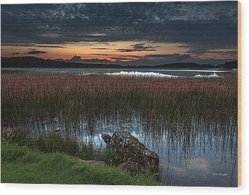 Lake Of The Goddess Wood Print by Tim Bryan