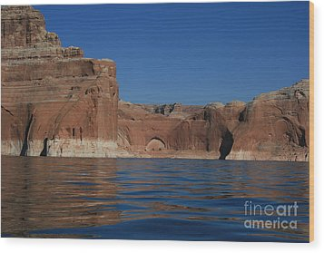 Lake Powell Landscape Wood Print