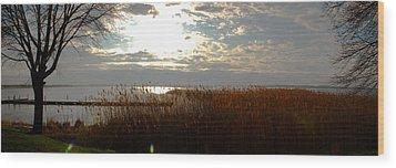 Lake Seneca Wood Print