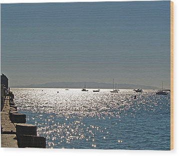 Wood Print featuring the photograph Lake Tahoe - California by Haleh Mahbod