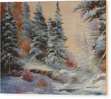 Lake Tahoe Wood Print by Gail Salituri