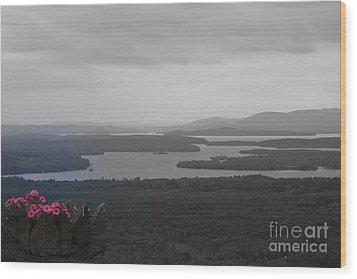 Lake Winnipesaukee      Sold Wood Print