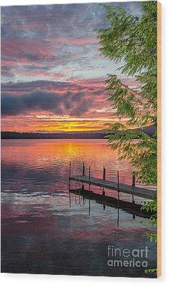 Lake Winnisquam Sunrise 2 Wood Print