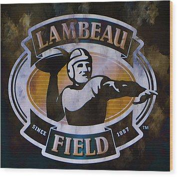 Lambeau Field Wood Print