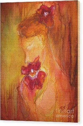 L'amour  Wood Print