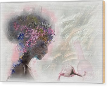 L'amour Perdu Wood Print by Freddy Kirsheh