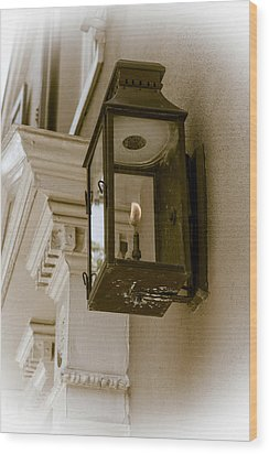 Wood Print featuring the photograph Lamp Unto My Feet by Sennie Pierson