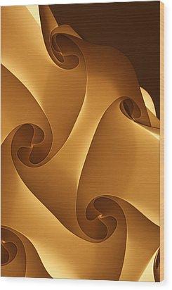Lampshade Wood Print