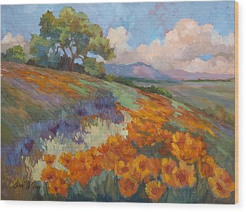 Land Of Sunshine Wood Print by Diane McClary