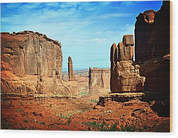 Land Of The Giants Wood Print by Marty Koch