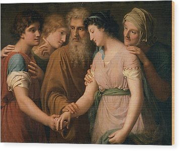 Landi Gaspare, The Marriage Of Sarah Wood Print by Everett