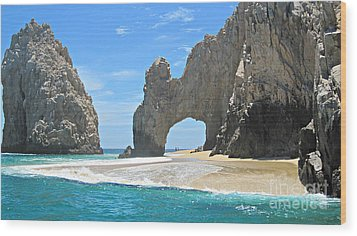 Wood Print featuring the photograph Lands End  by Marilyn Wilson