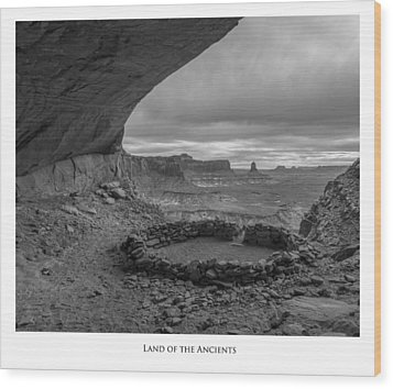 Lands Of The Ancients Wood Print