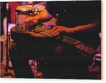 Lap Steel Wood Print