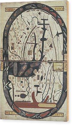 Lapocalypse De Saint Sever. 11th C Wood Print by Everett