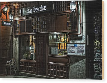 Las Descalzas - Madrid Wood Print by Mary Machare