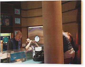 Las Vegas - Planet Hollywood Casino - 12126 Wood Print by DC Photographer