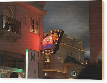 Las Vegas - Planet Hollywood Casino - 12127 Wood Print by DC Photographer