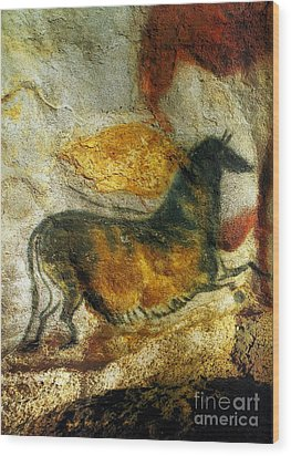 Wood Print featuring the photograph Lascaux II Number 4 - Vertical by Jacqueline M Lewis