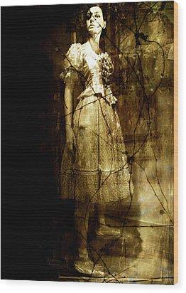 Last Dance Wood Print by Julie Palencia