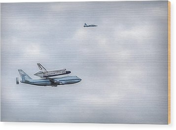 Wood Print featuring the photograph Last Flight by Michael Donahue
