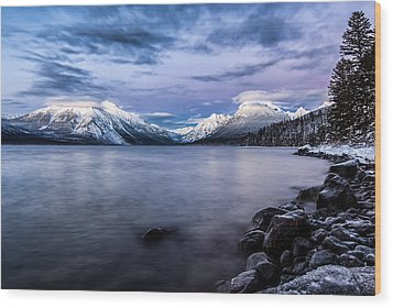 Wood Print featuring the photograph Last Light by Aaron Aldrich