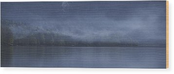 Wood Print featuring the photograph Last Light At Bohinj by Graham Hawcroft pixsellpix