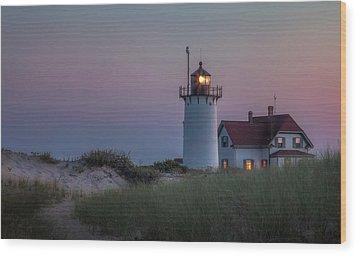 Last Light Wood Print by Bill Wakeley
