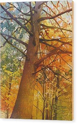 Last Stand Wood Print by Kris Parins