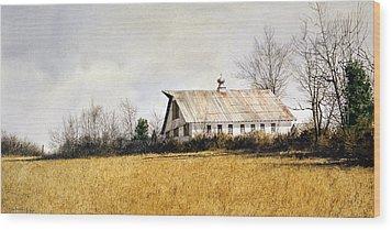 Last Stand Wood Print by Tom Wooldridge