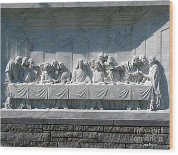 Wood Print featuring the photograph Last Supper by Greg Patzer