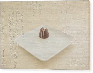 Last Temptation Wood Print by Kay Pickens