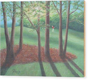 Late Afternoon At Eagle Ridge Wood Print