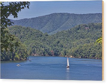 Late Summer Cruising  Wood Print by Tom Culver