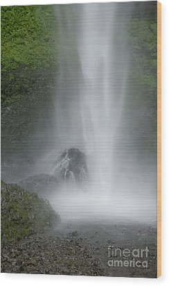 Latourelle Falls 2 Wood Print by Rich Collins
