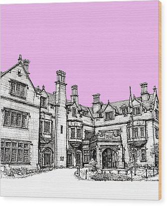 Laurel Hall In Pink  Wood Print by Adendorff Design