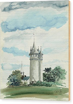 Lawson Tower Scituate Ma Wood Print