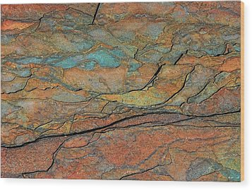 Wood Print featuring the photograph Layered by Britt Runyon