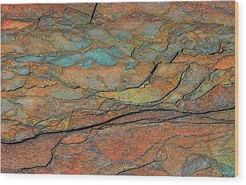 Layered Wood Print