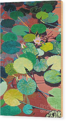 Lazy Summer Afternoon Wood Print by Allan P Friedlander