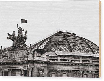Le Grand Palais Wood Print by Olivier Le Queinec