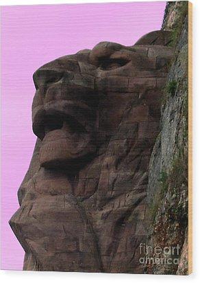 le Lion de Bartholdi Wood Print